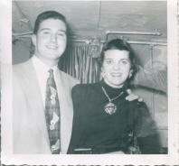 A very young photo of my parents, 1951, several years before they were married.